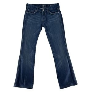 7 For All Mankind A Pocket Bootcut Jeans Size 26